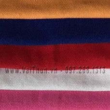 Vải Thun Cá Sấu Cotton 100% 4c