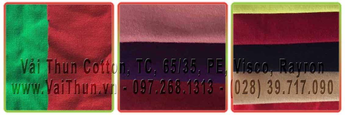 Vải Thun TC 4 Chiều